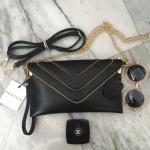 กระเป๋า PARFOIS Clutch bag with strap มีสองสาย คุ้มมากค่ะ