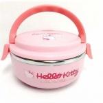 กล่องข้าวสแตนเลส Hello Kitty 1 ชั้น