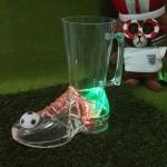 แก้วไฟ LED ทรงรองเท้าฟุตบอล