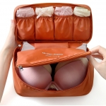 กระเป๋าใส่ชุดชั้นใน และกางเกงชั้นในพกพาสะดวก (รุ่นใหม่) - มี 7 สีให้เลือก