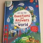 หนังสือเปิดสนุก Questions & Answers About Our World Board Books by Usborne