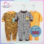 ชุดหมี sleep suit แพ็ค 3 ชุด