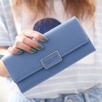 กระเป๋าสตางค์ใบยาว FOREVER YOUNG สีฟ้า