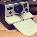 กล่องใส่ทิชชู่กล้อง Polaroid