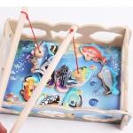 ของเล่นไม้ ชุดตกปลาแม่เหล็ก Magnetic Fishing Game Combo