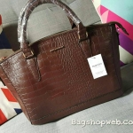 HOT PROMOTION-กระเป๋าหนัง สุดคลาสิค ทรงสุดหรู New Collection MANGO TOUCH Croc Tote Bag