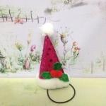 หมวกซานต้ากรวย M ชมพู