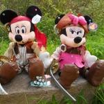 ตุ๊กตาคู่ Mickey & Minnie โจรสลัด