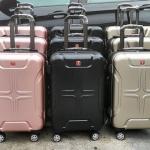 กระเป๋าเดินทางล้อลาก SWISS GEAR * ระบบซิป 2 ชั้น ป้องกันโจรกรรรม เจาะ กรีด *