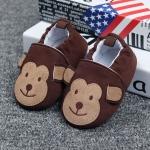 รองเท้าหัดเดินเด็กอ่อน ลายลิง วัย 0-12 เดือน