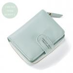 กระเป๋าสตางค์ใบสั้น FOREVER YOUNG BEAUTY S. สีเขียว