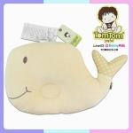 หมอนหลุม ปลาวาฬ สีครีม tom tom