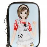 กระเป๋าใส่เครื่องสำอาง อุปกรณ์แต่งหน้า ลายการ์ตูนเกาหลีผู้หญิง น่ารักมากๆๆ ค่ะ ผลิตจาก PVC คุณภาพดี สัมผัสลื่น พกพาง่าย มีหลายแบบให้เลือกค่ะ