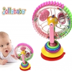 ของเล่นติดโต๊ะเด็ก วงล้อลูกปัด Jolly Baby Wonder Wheel Highchair Toy