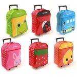 กระเป๋านักเรียนล้อลาก สำหรับเด็กเล็ก ลายการ์ตูนน่ารัก