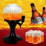ทาวเวอร์เบียร์ทรงกลม 3.5ลิตร มีแกนน้ำแข็ง