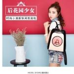 กระเป๋าเป้ หนังพิมพ์ลาย สวย หนังเงาดี คุณภาพดีมาก สามารถกันน้ำได้ จาก แบรนด์ Baibaobao ของแท้