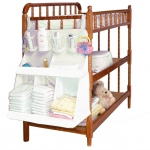 Three-dimensional bed hanging crib