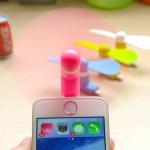 พัดลม สำหรับโทรศัพท์ iphone 5,5c,5s,6,6s,6splus,6plus mini fan usb
