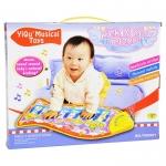 เปียโนผ้า มือแปะ-ขาถีบ สำหรับเด็กเล็ก Kick & Play Piano