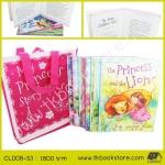 8 of My Princess Story Books Collection เซตหนังสือนิทานเจ้าหญิง 8 เล่ม พร้อมกระเป๋า