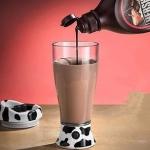 แก้วน้ำใส คนเองได้ Milk Mixer mug