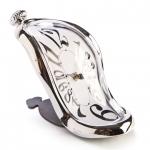 นาฬิกาบิดเบี้ยวตั้งโต๊ะ <พร้อมส่ง>