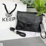 กระเป๋า KEEP Clutch bag with strap Size L รุ่นหายาก ขนาดใหม่คะ