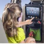 ที่ใส่ iPad-Tablet และของจุกจิก ติดหลังเบาะรถยนต์ Car Seat iPad Hanging Bag