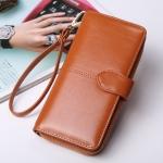 กระเป๋าสตางค์ใบยาว KQueenstar Lady สีน้ำตาล(ใหม่)