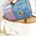 กระเป๋าจัดระเบียบ จัดระเบียบกระเป๋าถือ หิ้วพกพาได้ Bag in Bag -Organizer Bag