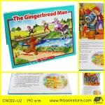 The Gingerbread Man : Pop Up Story นิทานป๊อปอัพ นายขนมปังขิง หนังสือเด็กภาษาอังกฤษ