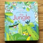หนังสือเปิดสนุก Peep Inside The Jungle by Usborne