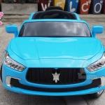 รถนั่งแบตเตอร์รี่ Maserati SUV ขับเคลื่อน 1 มอเตอร์ มี 2 ระบบในคันเดียว