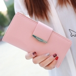 กระเป๋าสตางค์ใบยาว Prettyzys Tabby Long สีชมพู