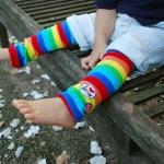 ปลอกขา ถุงขา เด็กเล็ก I Love Mom กันหนาว/ รองคลาน (0-3 ปี)