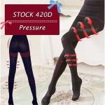 ถุงน่องขาเรียว 420D ปลายปิด ใส่ปุ๊บ ขาเรียวปั๊บ รุ่นผ้าหนา