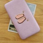 กระเป๋าสตางค์ใส่โทรศัพท์ Rabby Style Box สีม่วง