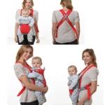 เป้อุ้มเด็ก Sanle Baby-Toddler Carrier ขนาดเล็ก สำหรับเด็กวัย 3-12 เดือน