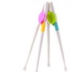 [ฟรี เมื่อซื้อครบ 1,000] ตะเกียบหัดคีบ ช่วยฝึกหัดจับตะเกียบได้อย่างถูกวิธี