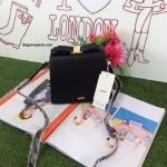 กระเป๋า Snidel store top ribbon bag สีดำ แบรนด์จากญี่ปุ่น สไตล์คุณหนู ขนาดมินิ