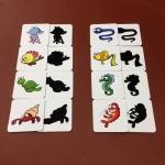 แฟลชการ์ดเกมจับคู่ภาพกับเงา ชุดสัตว์ทะเล
