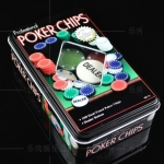 Pocker Chips 100เหรียญ