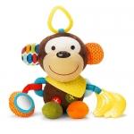 ตุ๊กตาโมบายผ้าเสริมพัฒนาการ รูปลิง SKK Baby รุ่น BANDANA BUDDIES activity toy - Monkey