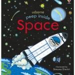 หนังสือเปิดสนุก Peep Inside The Space by Usborne