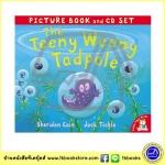 The Teeny Weeny Tadpole - Picture Book ad CD Set หนังสือนิทานพร้อมซีดีประกอบ ลูกอ๊อดตัวจิ๋ว Jack Tickle