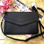 กระเป๋า MARCS ENVELOPE CLUTH BAG สีดำ ราคา 990 บาท Free Ems