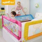 ที่กั้นเตียงกันเด็กตกเตียง Mambo สำหรับเตียง 5, 6 ฟุต ความสูง 70 ซม. รุ่นใหม่! เปิดขึ้นลงสะดวก