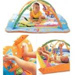เพลยิม PlayGym - Jolly Baby Gymini Kick & Play Total Play Ground สีฟ้า-ส้ม