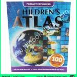 Primary Explorers : Children's Atlas สมุดแผนที่สำหรับเด็ก